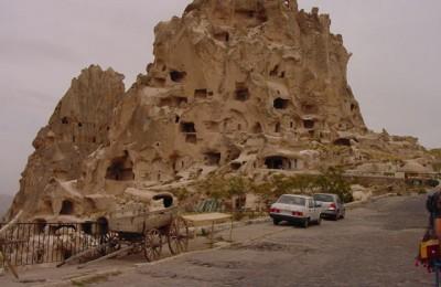 Cappadocia Uc Hisar Castle